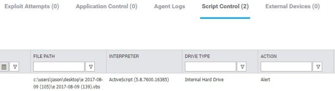 Script Control